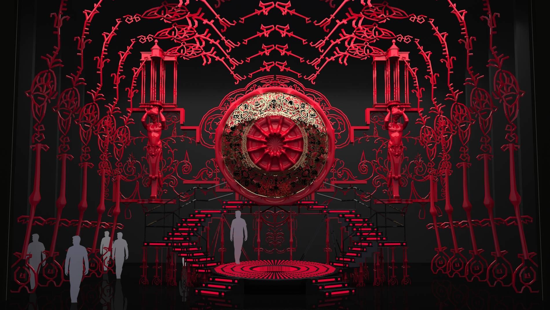 ·: Nicolas Buffe :· - Act II, Alcina's grotto