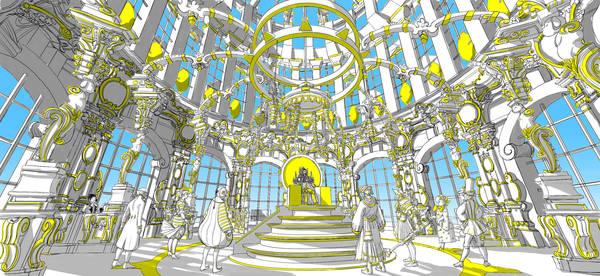 ·: Nicolas Buffe :· - palais du royame du soleil trone v1,2 2k5 PREVIEW