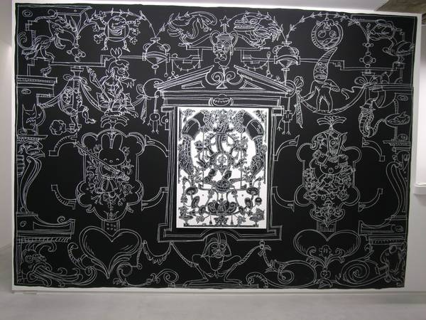 Nicolas-Buffe-2010-01-La-Tour-Megumi-Ogita-Gallery-6-wall-drawing-chalk-paint