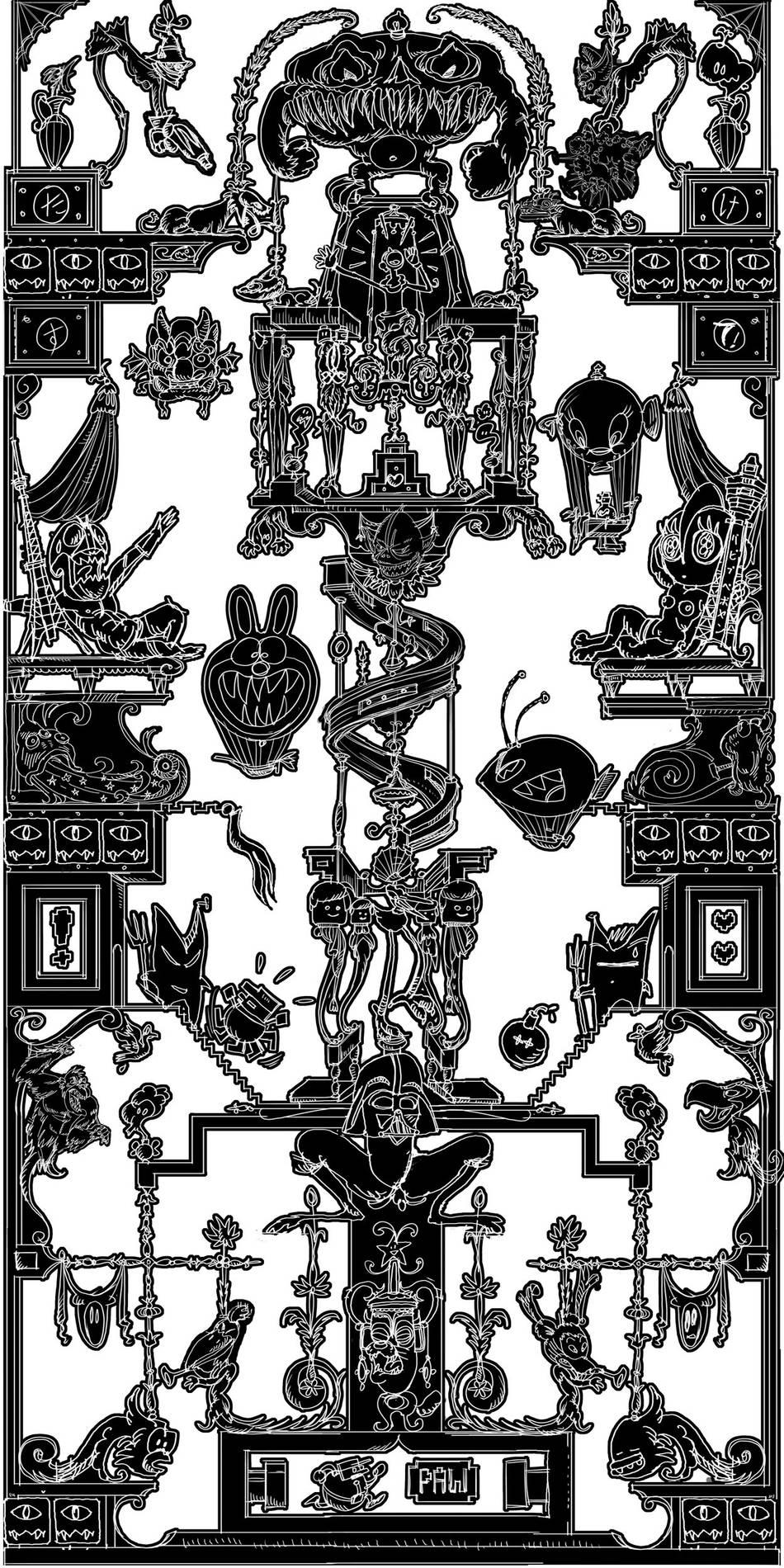 ·: Nicolas Buffe :· - Nicolas Buffe - 2010---01 - dessin_60x120cm_2500