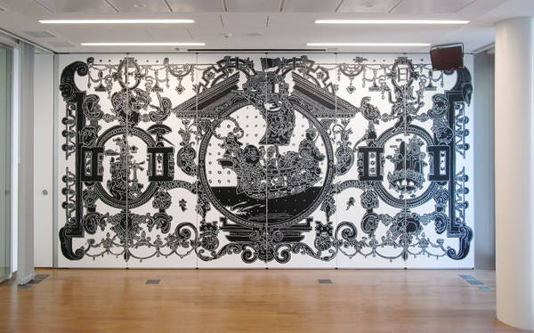 Nicolas-Buffe-2009-06-wall-drawing-@-French-Embassy-in-Japan-Reception-room