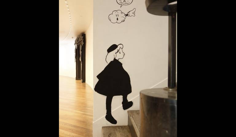 ·: Nicolas Buffe :· - Nicolas Buffe, The Dream of Polifilo, Hara Museum 16 stairs (photo by Keizo Kioku)