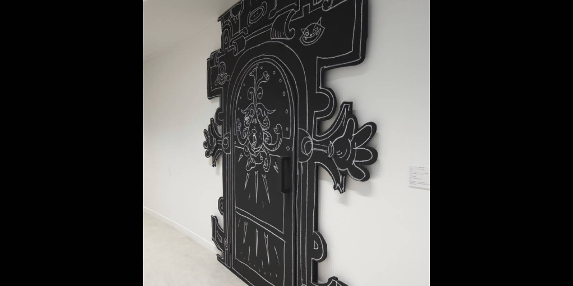·: Nicolas Buffe :· - Nicolas Buffe, The Dream of Polifilo, Hara Museum 20 Locus Terribilis, door,  (photo by Keizo Kioku)