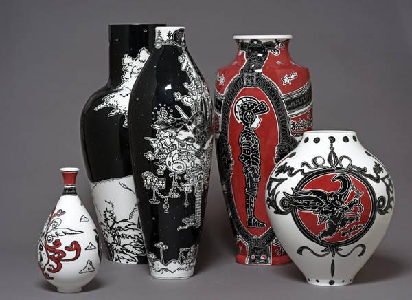 Buffe Nicolas Vases Four à bois
