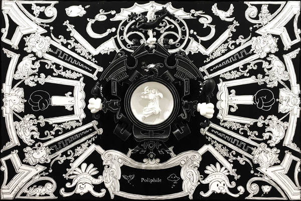 cartouche Polifilo black art basel HK 2017 preview53