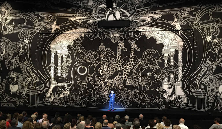 ·: Nicolas Buffe :· - rideau de scene La Seine Musicale e2k