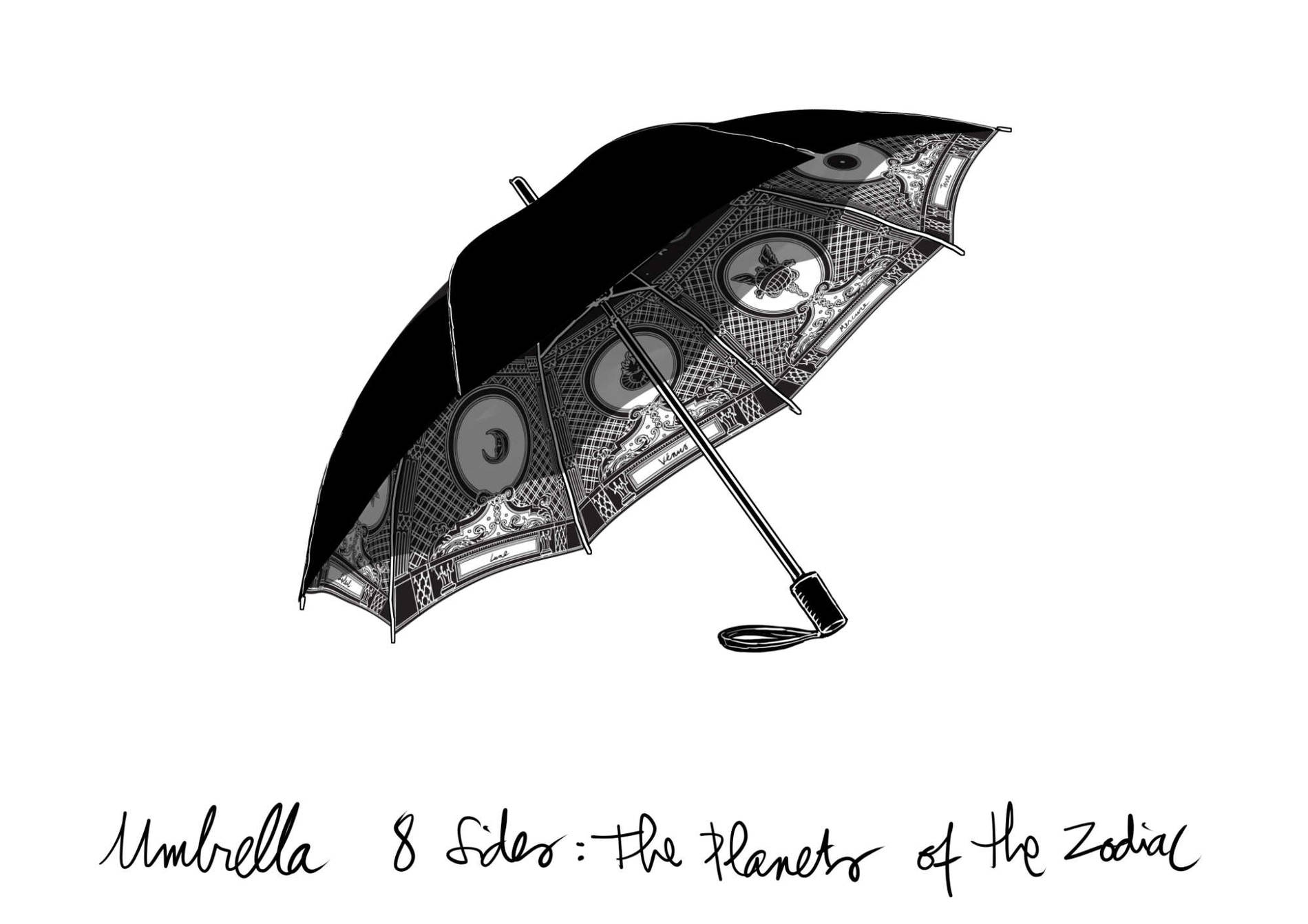 ·: Nicolas Buffe :· - 8 sided umbrella sketch v1,2 d folded_2k
