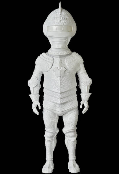 Super Polifilo armor white ver 01